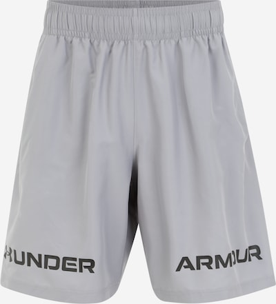 UNDER ARMOUR Shorts in hellgrau / schwarz, Produktansicht