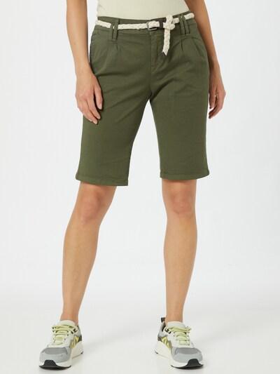 zöld Eight2Nine Élére vasalt nadrágok, Modell nézet