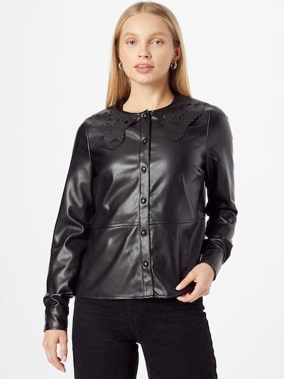 VERO MODA Bluse 'SOLAHERA' in schwarz, Modelansicht