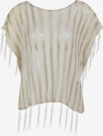 Usha Pullover in gold / wollweiß, Produktansicht