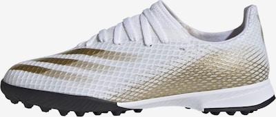 ADIDAS PERFORMANCE Fußballschuh 'Ghosted' in gold / weiß, Produktansicht