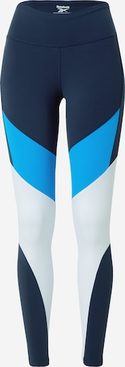 REEBOK Spordipüksid sinine / öösinine / valge, Tootevaade
