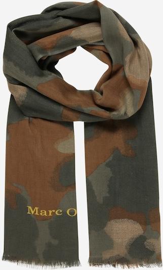 Marc O'Polo Schal in beige / braun / grün, Produktansicht