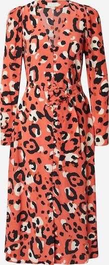 Ted Baker Kleid 'Isbeil' in koralle / schwarz / weiß, Produktansicht