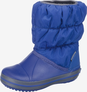 Crocs Snowboots in Blau