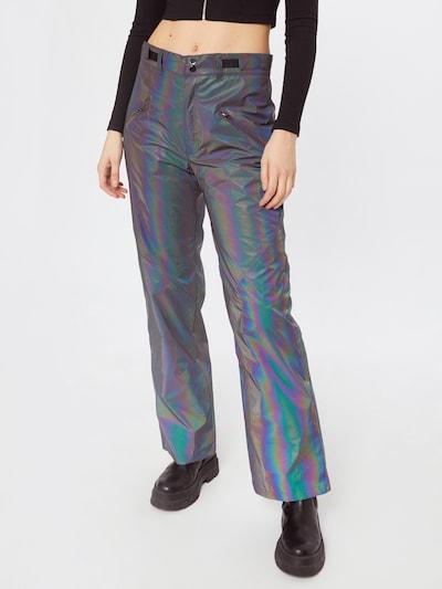 Missguided Kalhoty - světle fialová, Model/ka