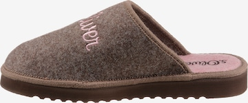 s.Oliver Slippers in Brown