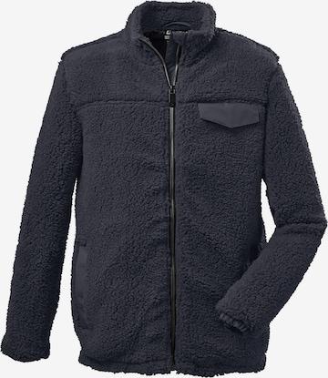 Jachetă  fleece funcțională de la KILLTEC pe albastru