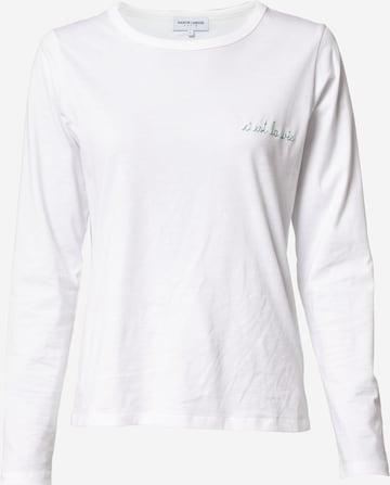 Maison Labiche Μπλουζάκι 'Charlot' σε λευκό