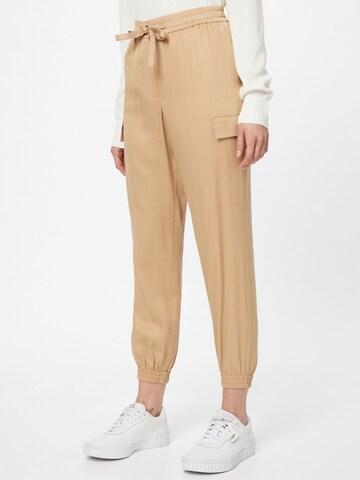 Pantalon cargo Calvin Klein en beige
