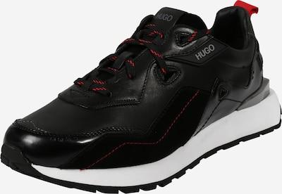 HUGO Sneakers laag 'Cubite' in de kleur Rood / Zwart / Wit, Productweergave
