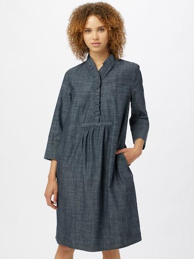 Noa Noa Kleid in dunkelblau, Modelansicht