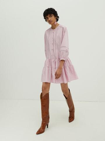 EDITED - Vestido camisero 'Despina' en lila