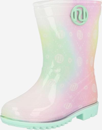 Guminiai batai iš River Island, spalva – geltona / žalia / oranžinė / rožių spalva, Prekių apžvalga