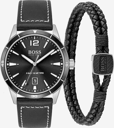 BOSS Casual Analog Watch in Black / Silver, Item view