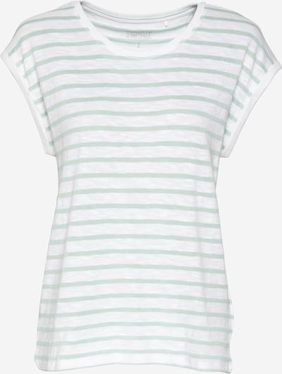 ESPRIT Paita värissä minttu / valkoinen, Tuotenäkymä