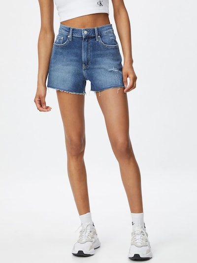 Calvin Klein Jeans Дънки в син деним, Преглед на модела