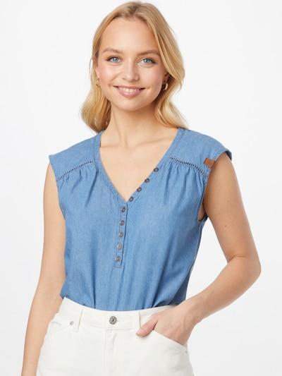 Ragwear Blouse in Blue denim, View model