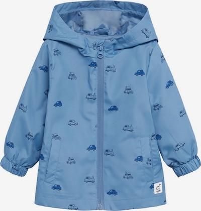 MANGO KIDS Tussenjas in de kleur Blauw, Productweergave