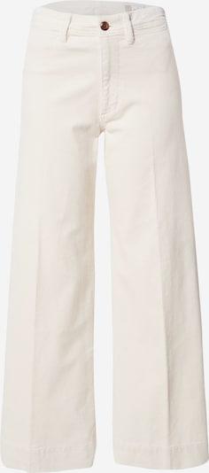 GAP Pantalon à plis en blanc cassé, Vue avec produit