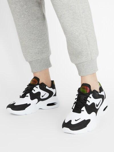 Sneaker low 'Advantage 4' Nike Sportswear pe negru / alb: Privire frontală