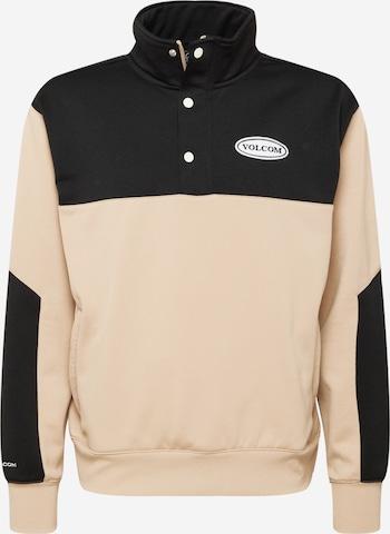 Volcom Athletic Sweatshirt in Pink