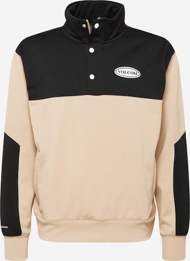 Volcom Sportsweatshirt in rosa / schwarz, Produktansicht