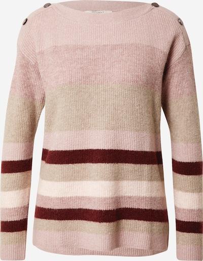 Pulover ESPRIT pe bej / roz / bordeaux, Vizualizare produs