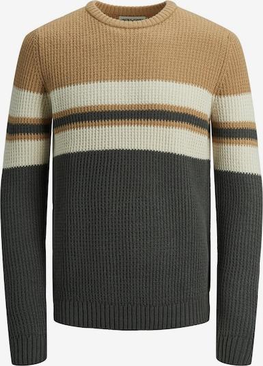 JACK & JONES Sweater 'Dalton' in Beige / Dark grey, Item view