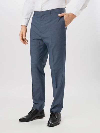 BURTON MENSWEAR LONDON Nohavice s pukmi 'JASPE' - námornícka modrá / modrosivá, Model/-ka