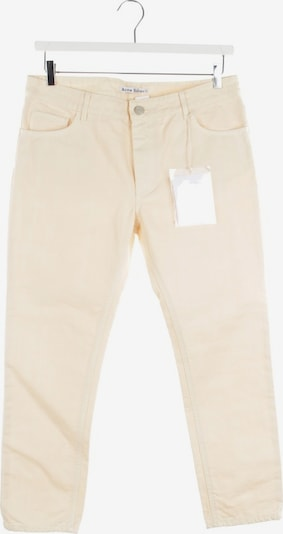 Acne Jeans in 30-31 in creme, Produktansicht