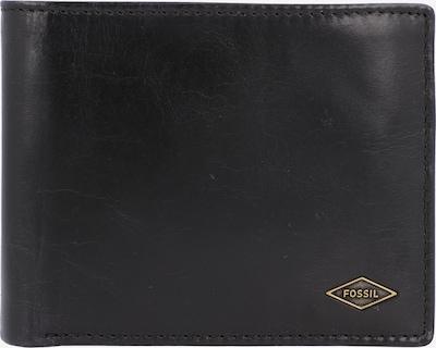 FOSSIL Geldbörse 'Ryan' in schwarz, Produktansicht