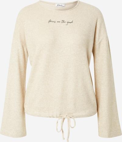 ETAM T-shirt en beige chiné / noir, Vue avec produit