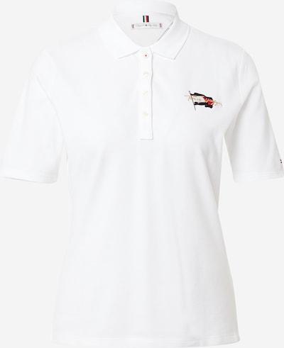 TOMMY HILFIGER Camiseta en beige claro / azul oscuro / melón / offwhite, Vista del producto