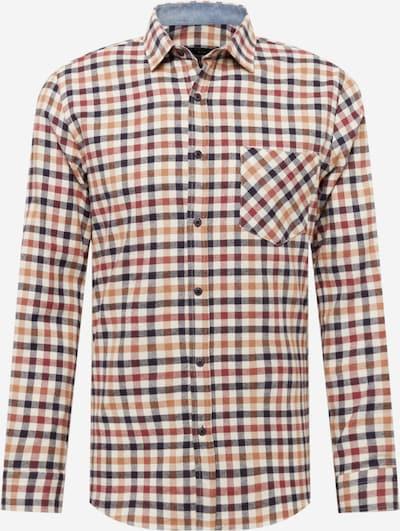 Trendyol Hemd in dunkelblau / apricot / rot / weiß, Produktansicht