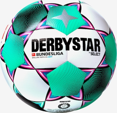 DERBYSTAR Ball 'Bundesliga' in blau / jade / pink / schwarz / weiß, Produktansicht