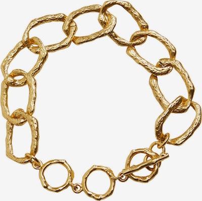 Brățară 'OLGAS' MANGO pe auriu: Privire frontală