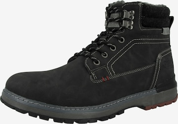 Dockers by Gerli Lace-Up Boots in Black