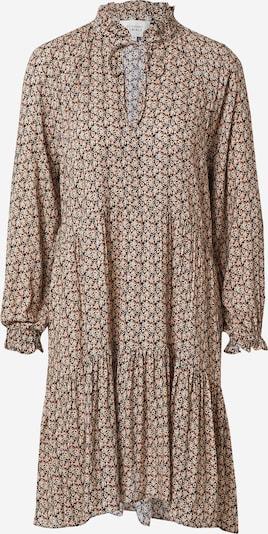 SECOND FEMALE Kleid 'Frank' in beige / hellblau / rosa / schwarz, Produktansicht