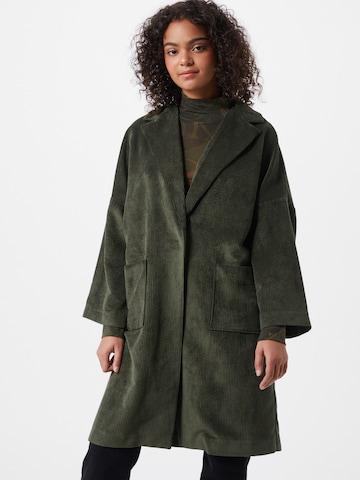 žalia Karo Kauer Demisezoninis paltas