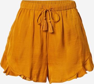 Guido Maria Kretschmer Collection Shorts 'Emma' in Gelb