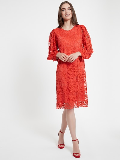 Ana Alcazar Kleid 'Cafra' in rot, Modelansicht