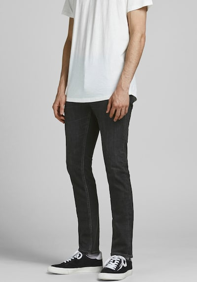 JACK & JONES Jeans 'Glenn' in black denim, Modelansicht