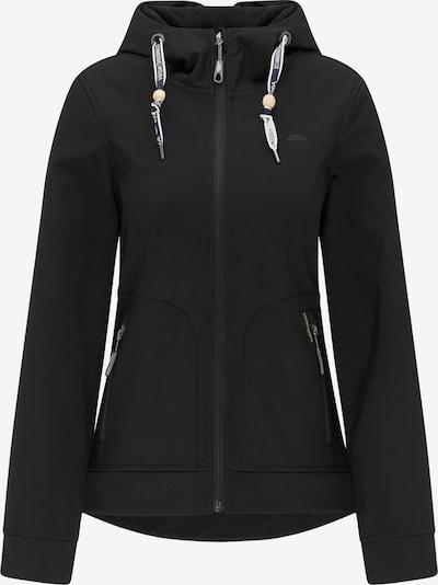 Schmuddelwedda Funktionsjacke in schwarz, Produktansicht