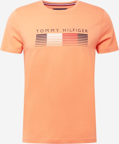 TOMMY HILFIGER Tričko - námořnická modř / jasně oranžová / červená / bílá, Produkt