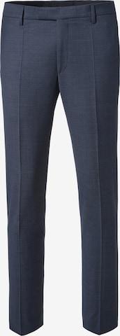Pantalon à plis PIERRE CARDIN en bleu