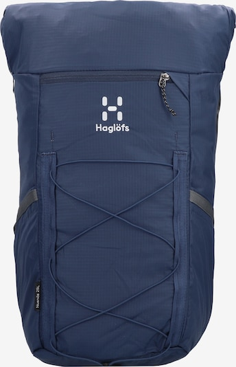Haglöfs Backpack in Blue / Dark grey / White, Item view