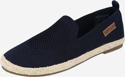 TOM TAILOR Espadrilles in navy, Produktansicht