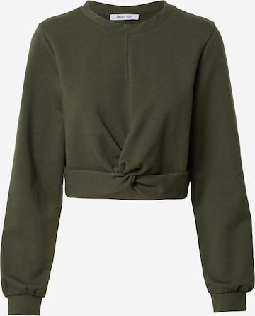 ABOUT YOU Sweatshirt 'Shari' in Green