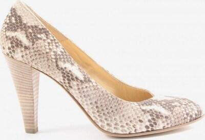 Moda Di Fausto High Heels in 38 in creme / braun, Produktansicht